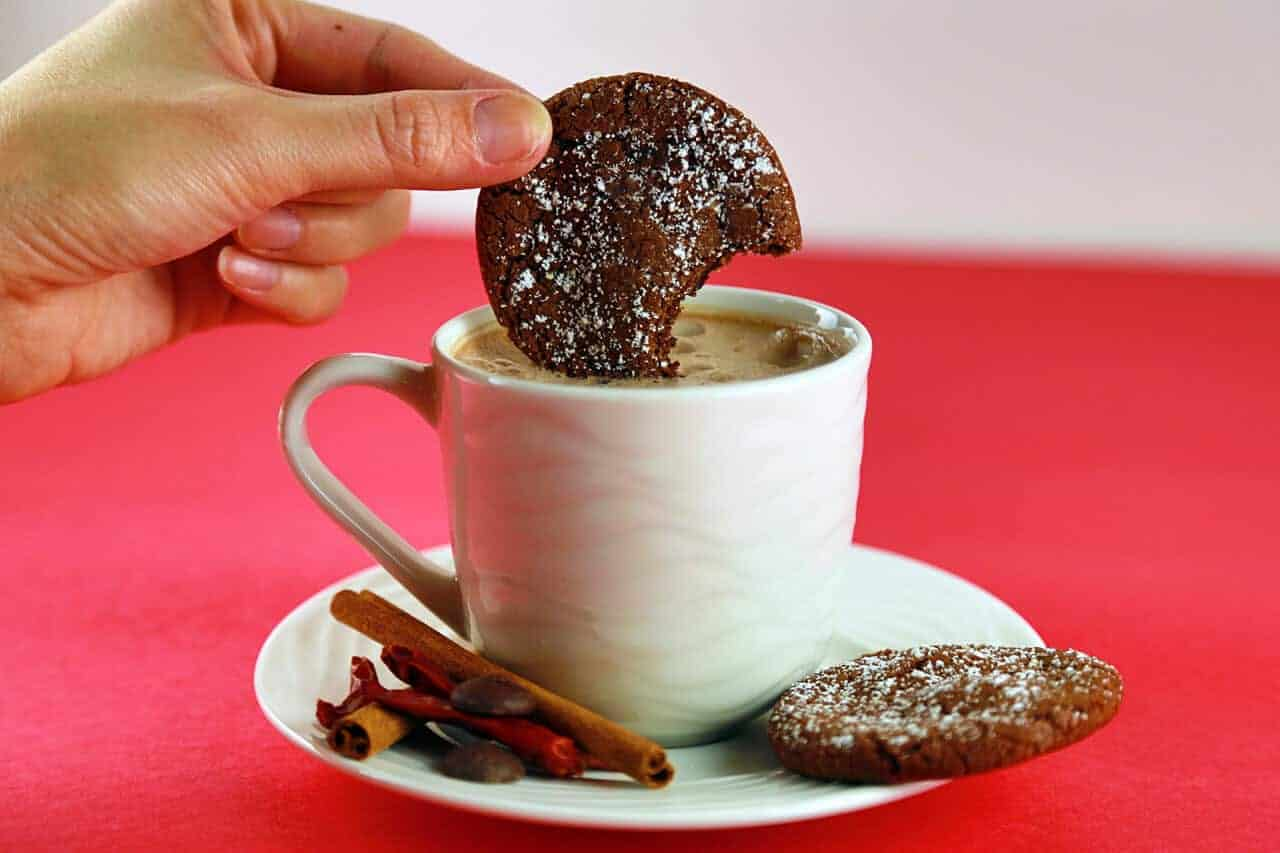 Hot Chocolate Chili Cookie Recipe for Valentine's Day | Jessica Gavin