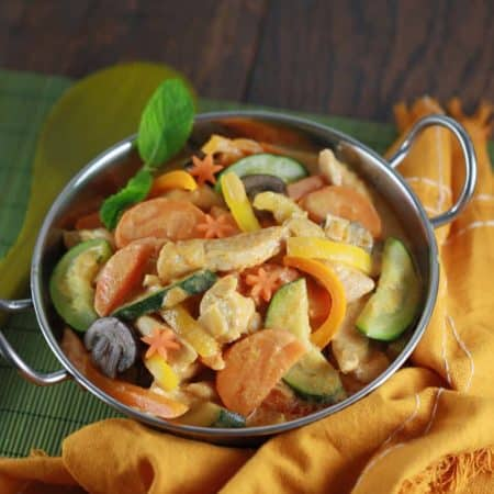 Thai Chicken Vegetable Curry