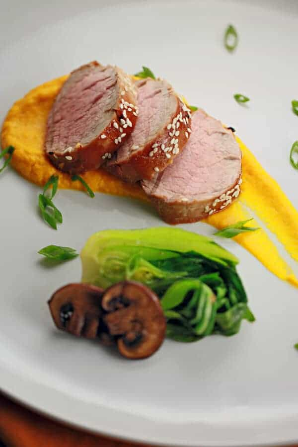 Honey hoisin pork tenderloin recipe
