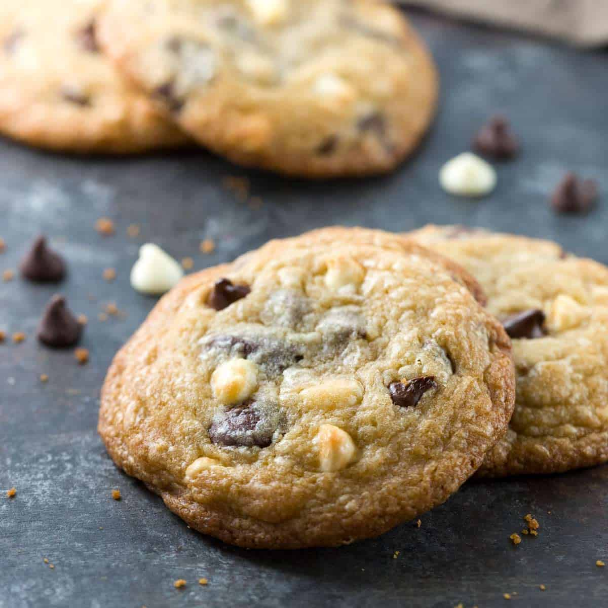 Triple Chocolate Chip Cookie Recipe Easy