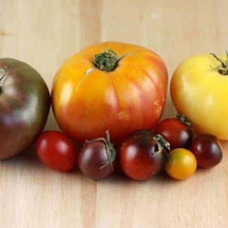 Seasonal Heirloom Tomato Salad Recipe