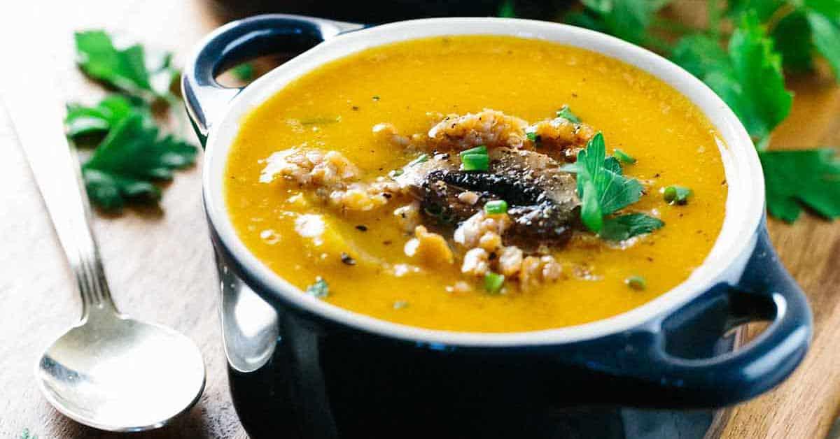 Jessica S Kitchen Butternut Squash Soup