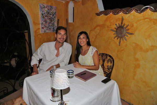 Jason and Jessica at La Villa Mahana