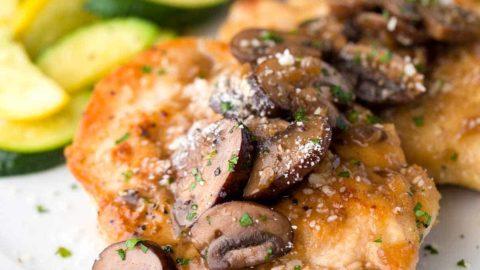 Chicken Marsala Recipe Jessica Gavin