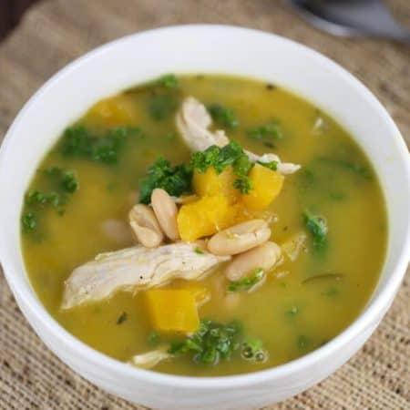 Chicken Butternut Squash Soup Recipe