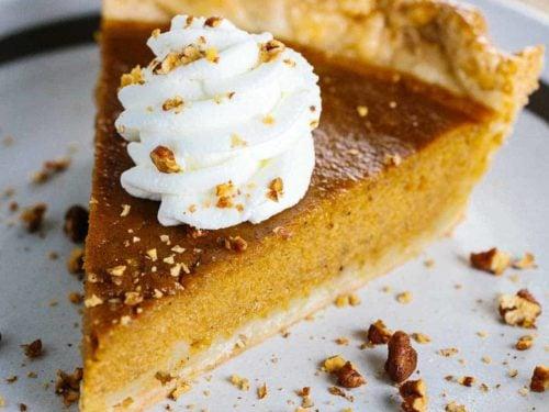 Classic Pumpkin Pie Recipe Jessica Gavin