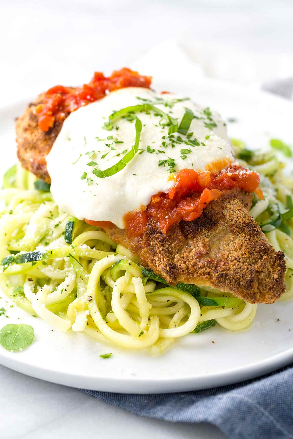 Baked Chicken Parmesan With Fresh Tomato Sauce Jessica Gavin