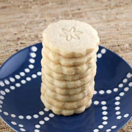 Vanilla Shortbread Cookies