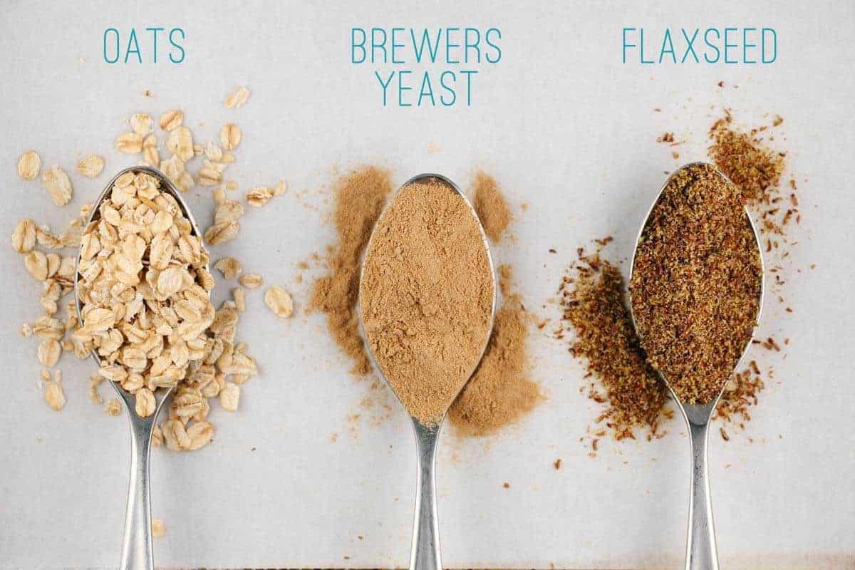 Lactation Cookie Activating Ingredients that Promote Milk Production | jessicagavin.com