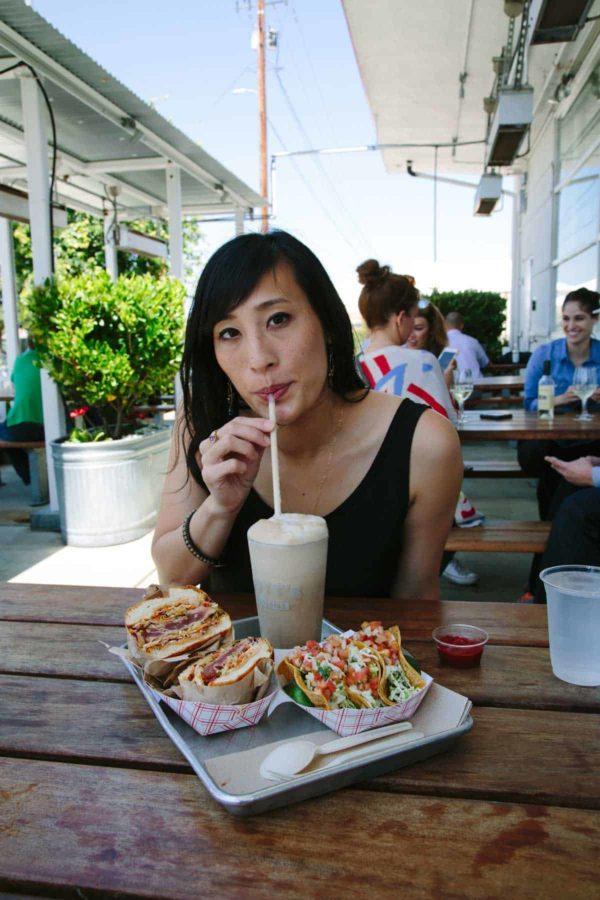 jessica at gotts roadside burgers