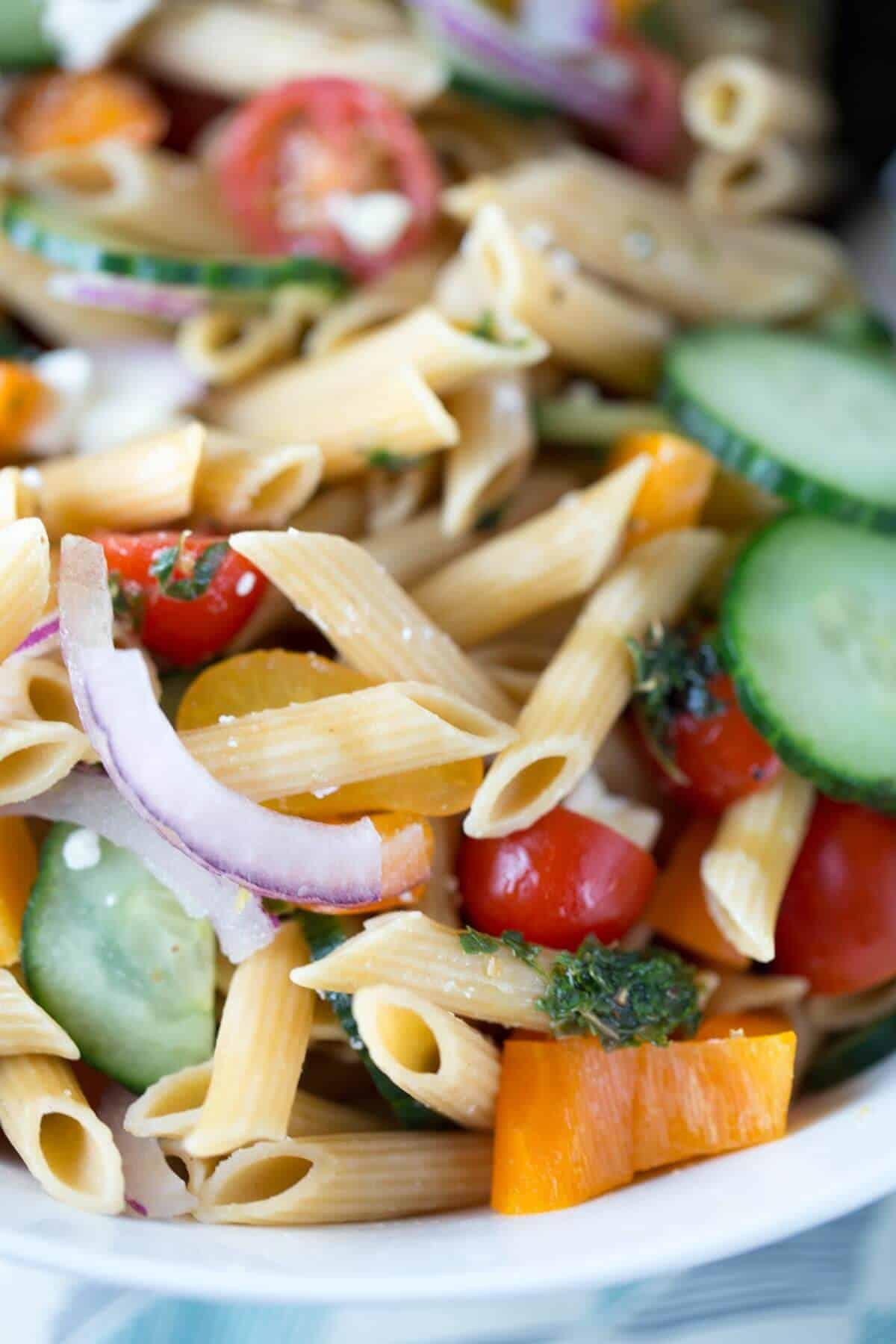Pasta salad dressing recipes easy