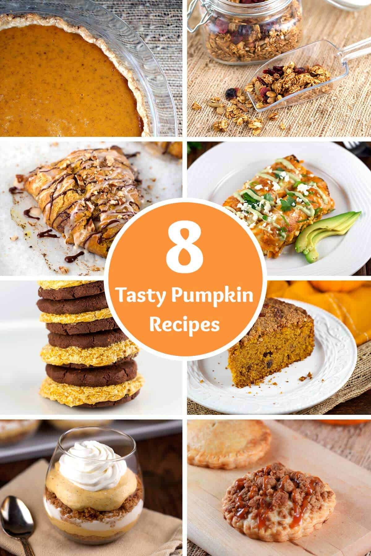 8 of my favorite tasty pumpkin recipes for you to try and home this season | jessicagavin.com