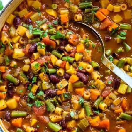 Classic Italian Minestrone Soup