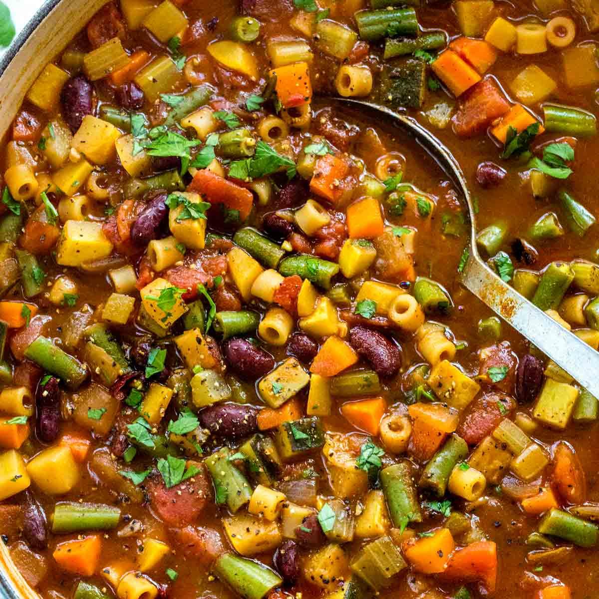 Classic Italian Minestrone Soup Recipe Jessica Gavin
