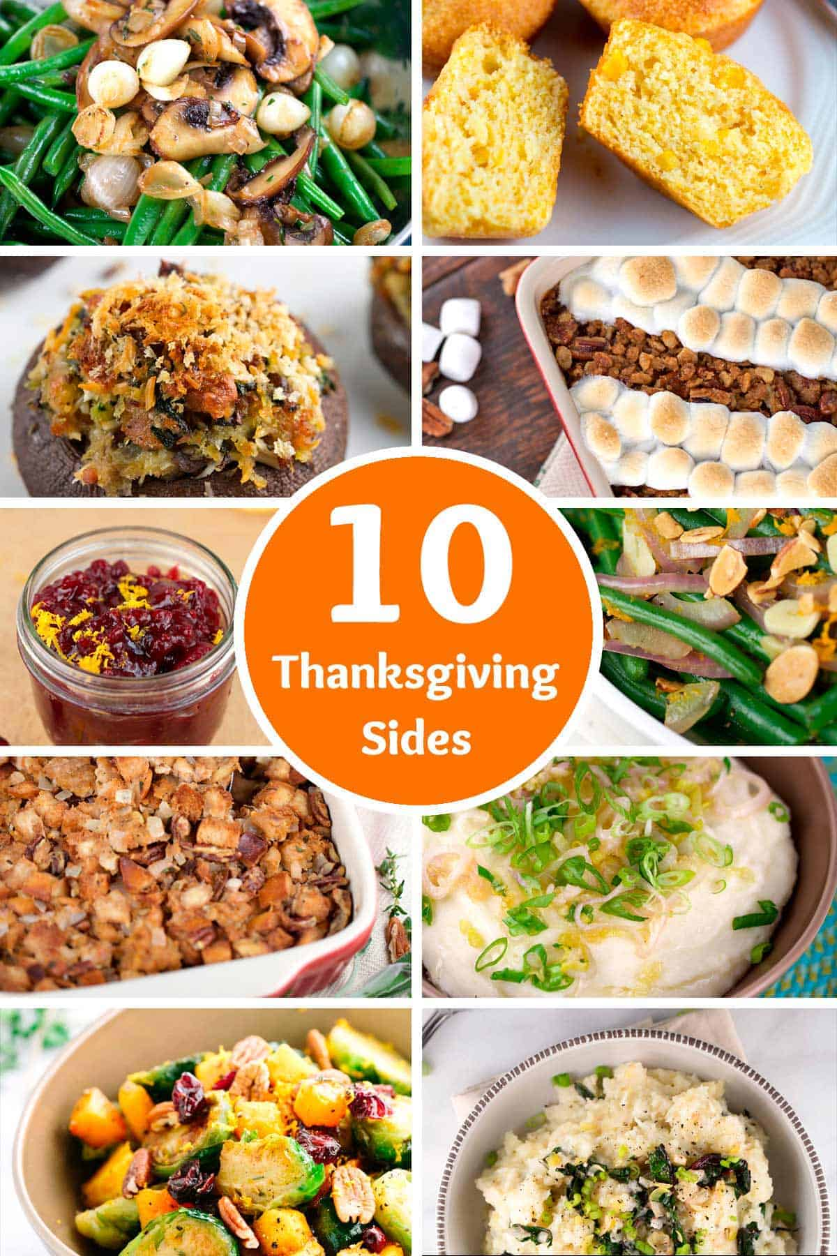 Here's 10 EASY to make Thanksgiving side dishes for your big feast that are surely going to be a hit | jessicagavin.com
