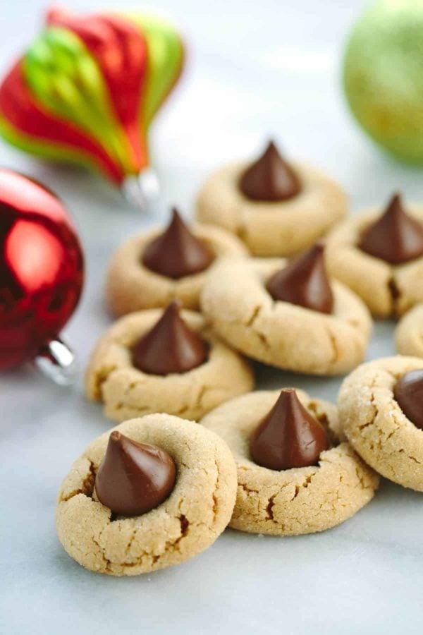 Classic Peanut Butter Kiss Cookies