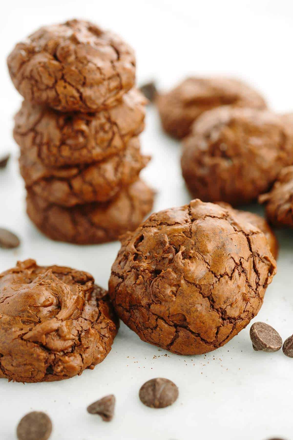 Triple Chocolate Truffle Cookies Recipe | Jessica Gavin
