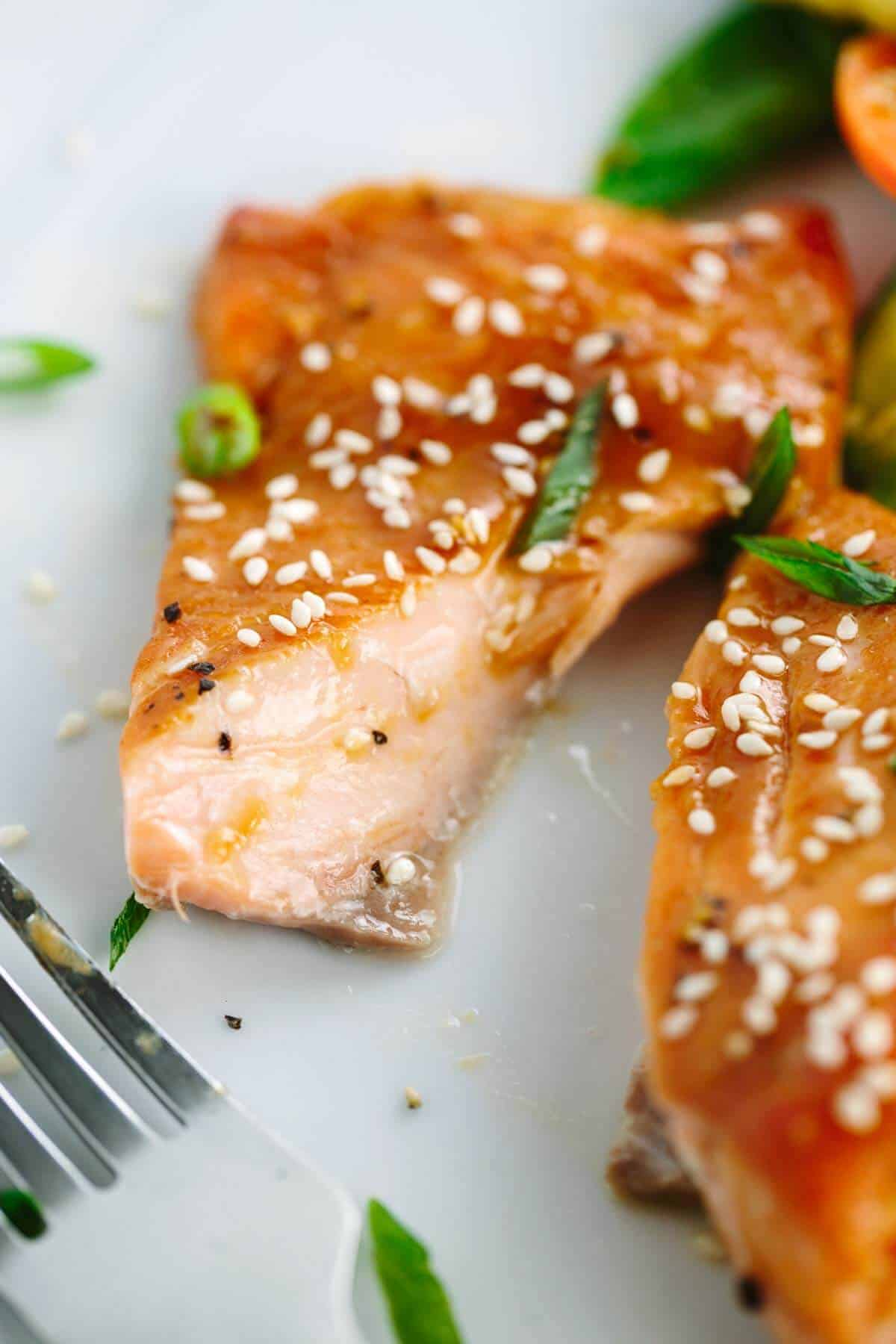 15 Minute Miso Glazed Salmon Recipe  Broiled And Drizzled With Miso And  Soy For Maximum