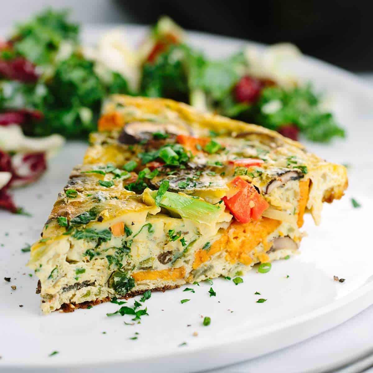Italian Frittata Recipe with Kale and Sweet Potato ...