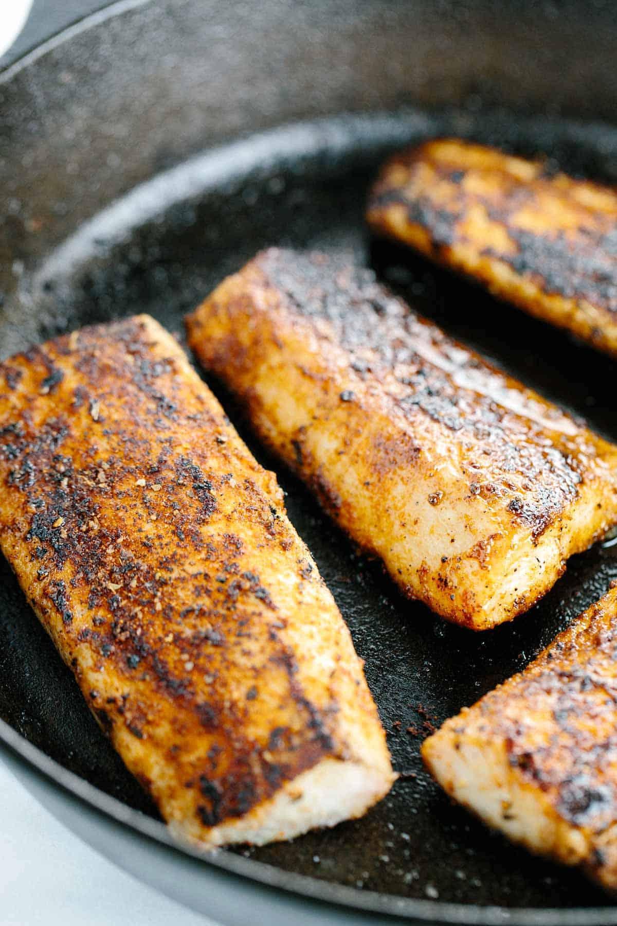 Pan seared mahi mahi with honey lime coleslaw jessica gavin for Iron in fish