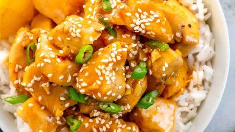 Chinese Orange Chicken Recipe Jessica Gavin