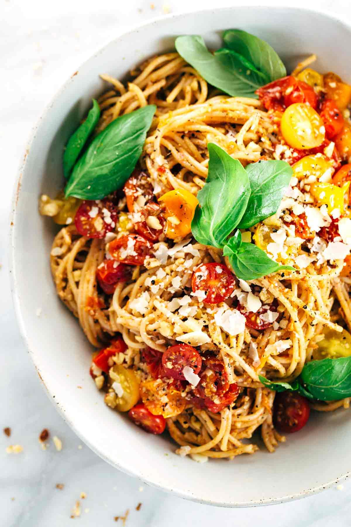 Roasted Tomato Basil Pasta