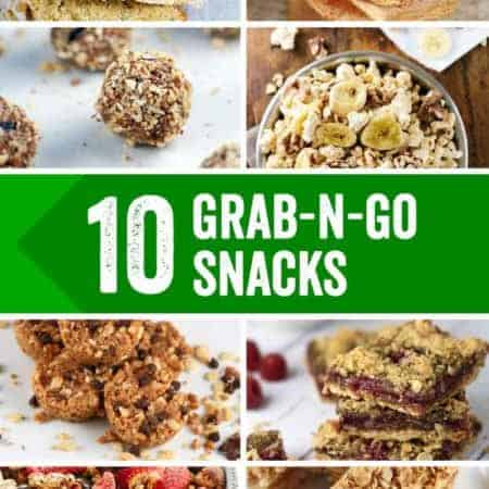 10 Energizing Portable On the Go Snacks