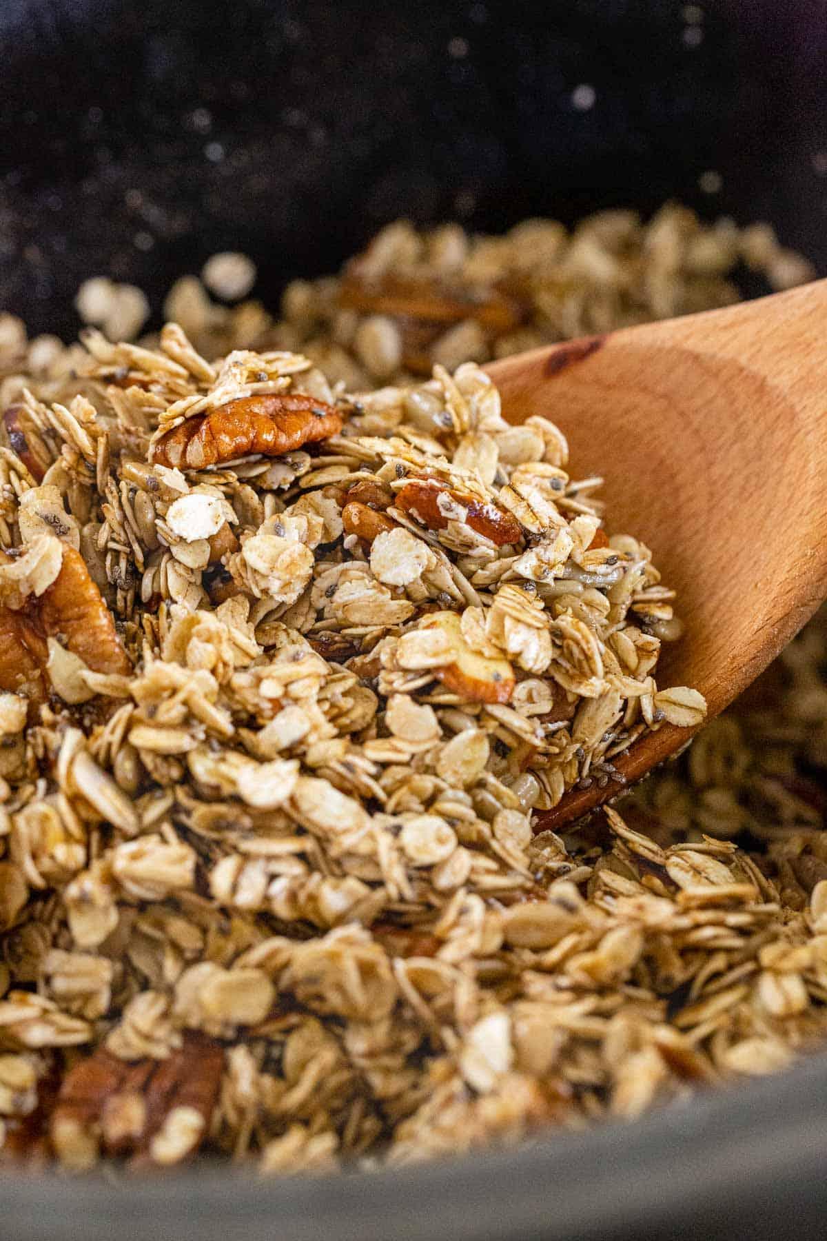 Slow Cooker Granola Recipe Jessica Gavin