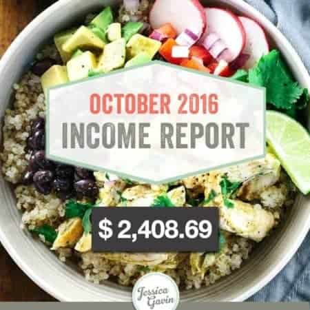 Traffic and Income Report – October 2016
