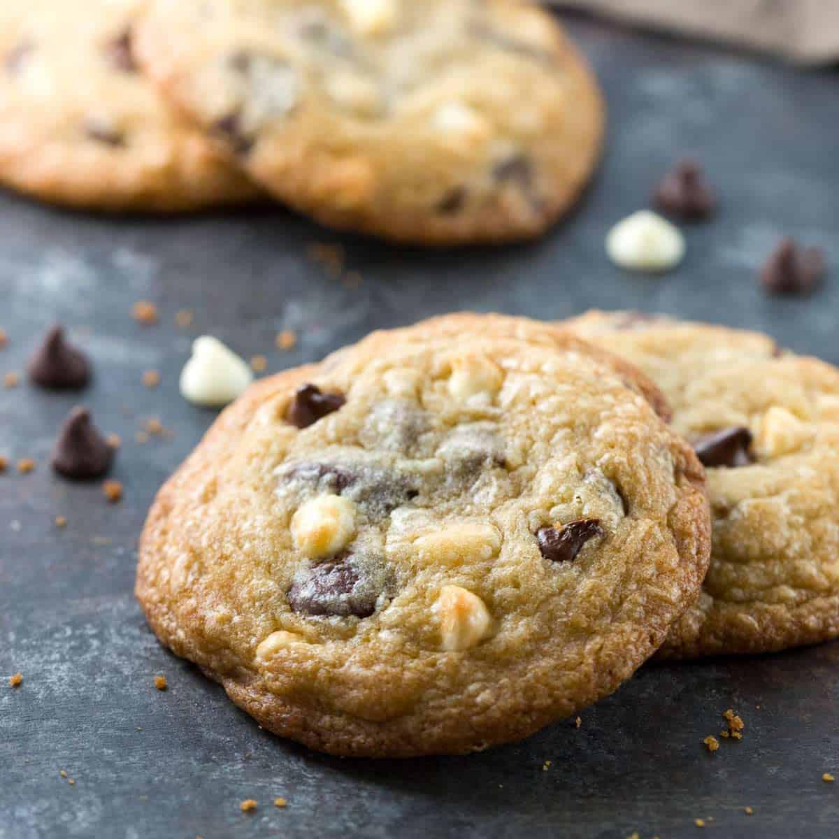 Soft Triple Chocolate Chip Cookies Recipe | Jessica Gavin