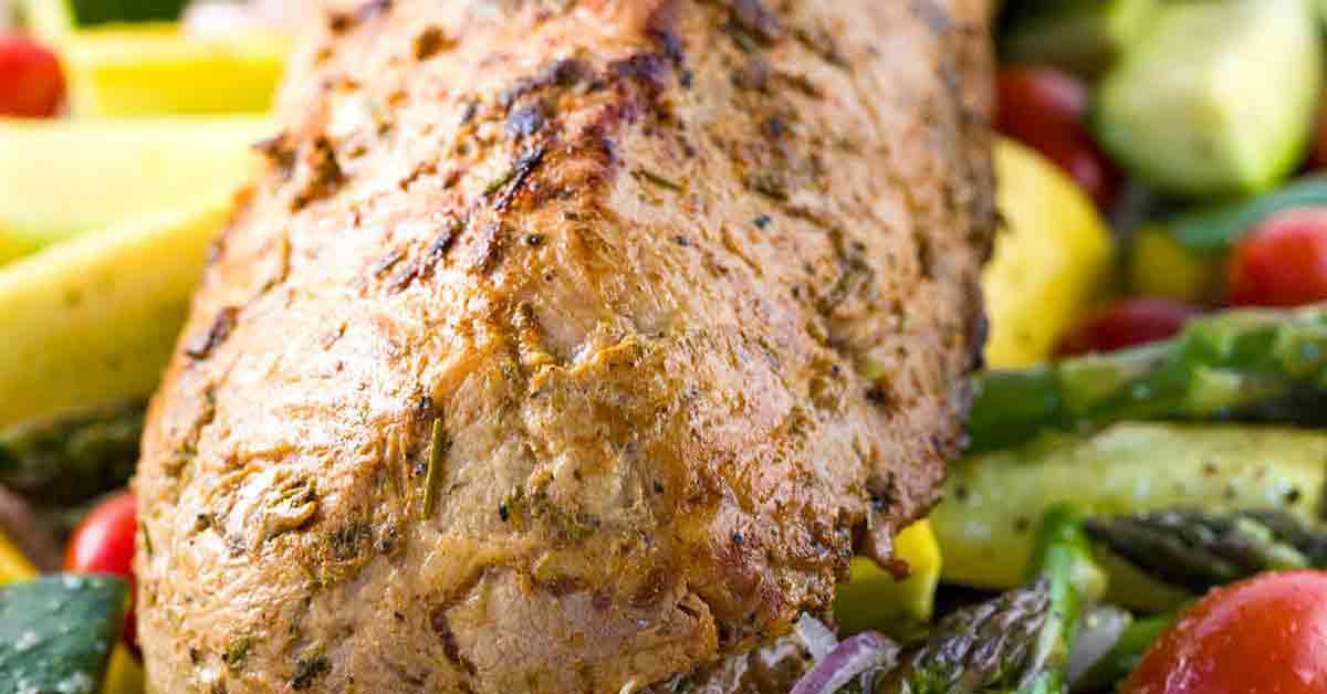 how to cook a pork loin roast