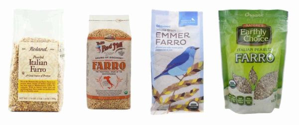different brands of farro