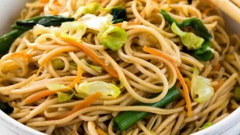 Chow Mein Recipe Jessica Gavin