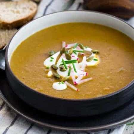 Red Lentil Soup (Instant Pot)