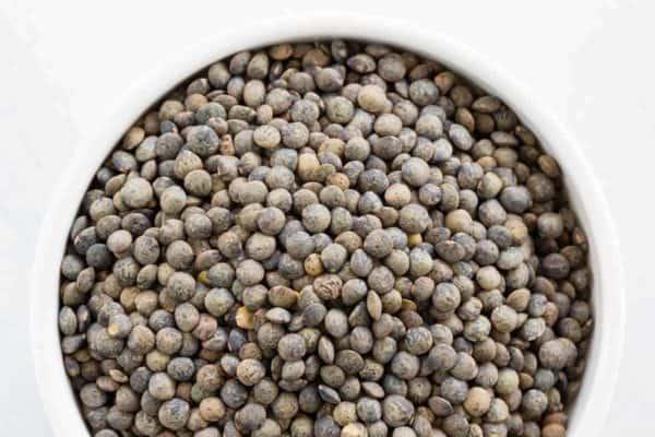 Bowl of Lentilles du Puy