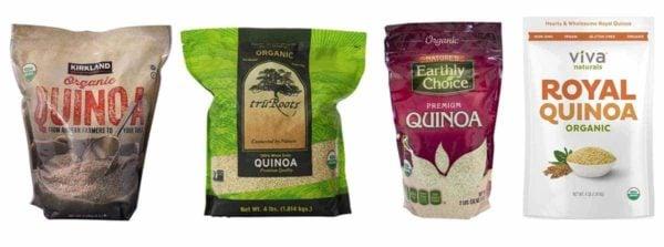 Popular Quinoa products on Amazon.com