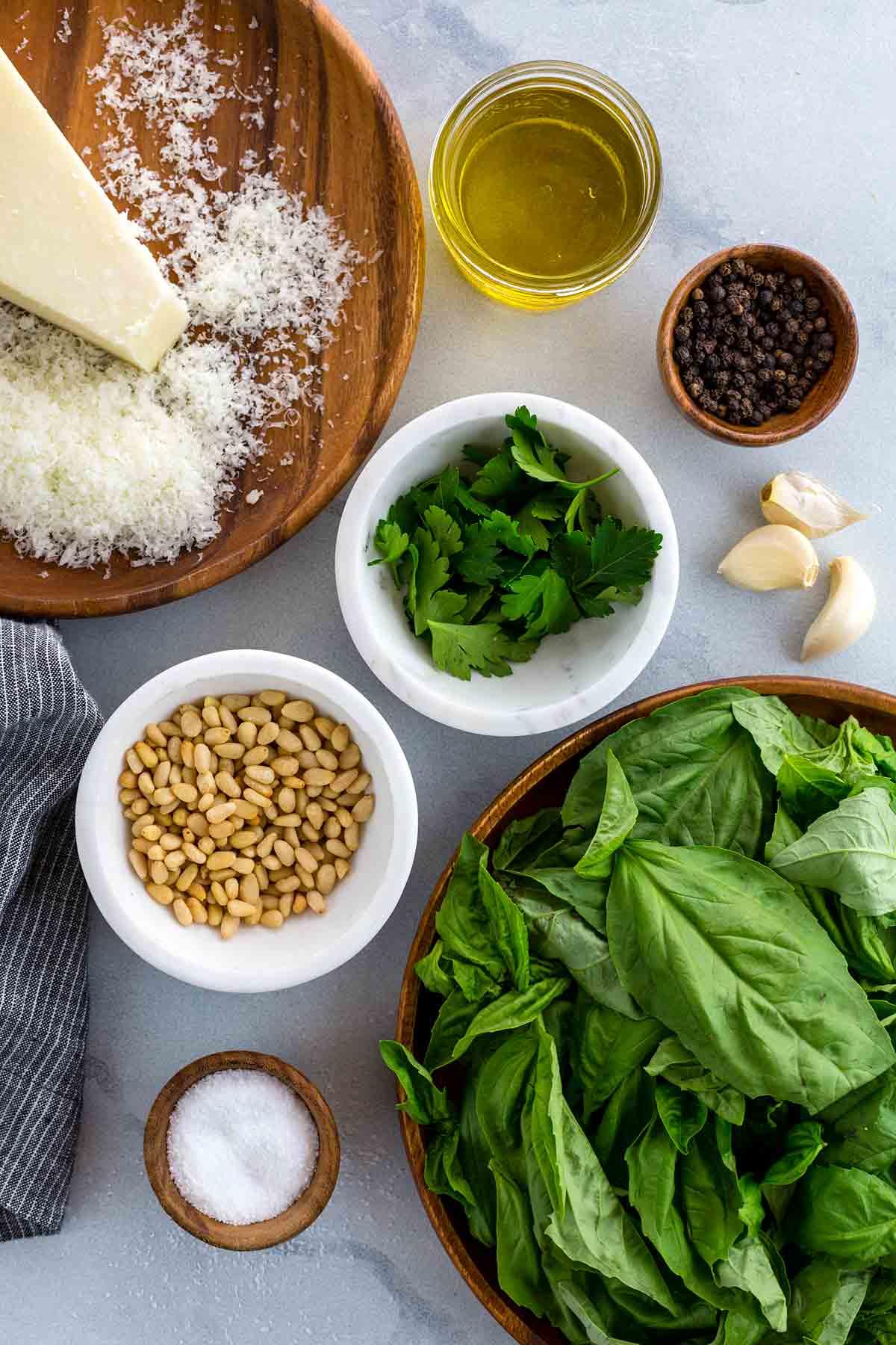How To Make Pesto Sauce - Jessica Gavin