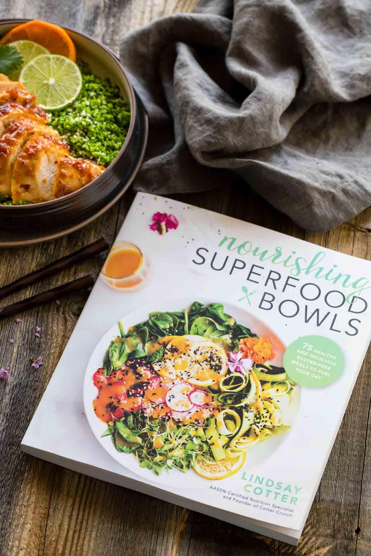 Nourishing Superfood Bowls cookbook by Lindsay Cotter