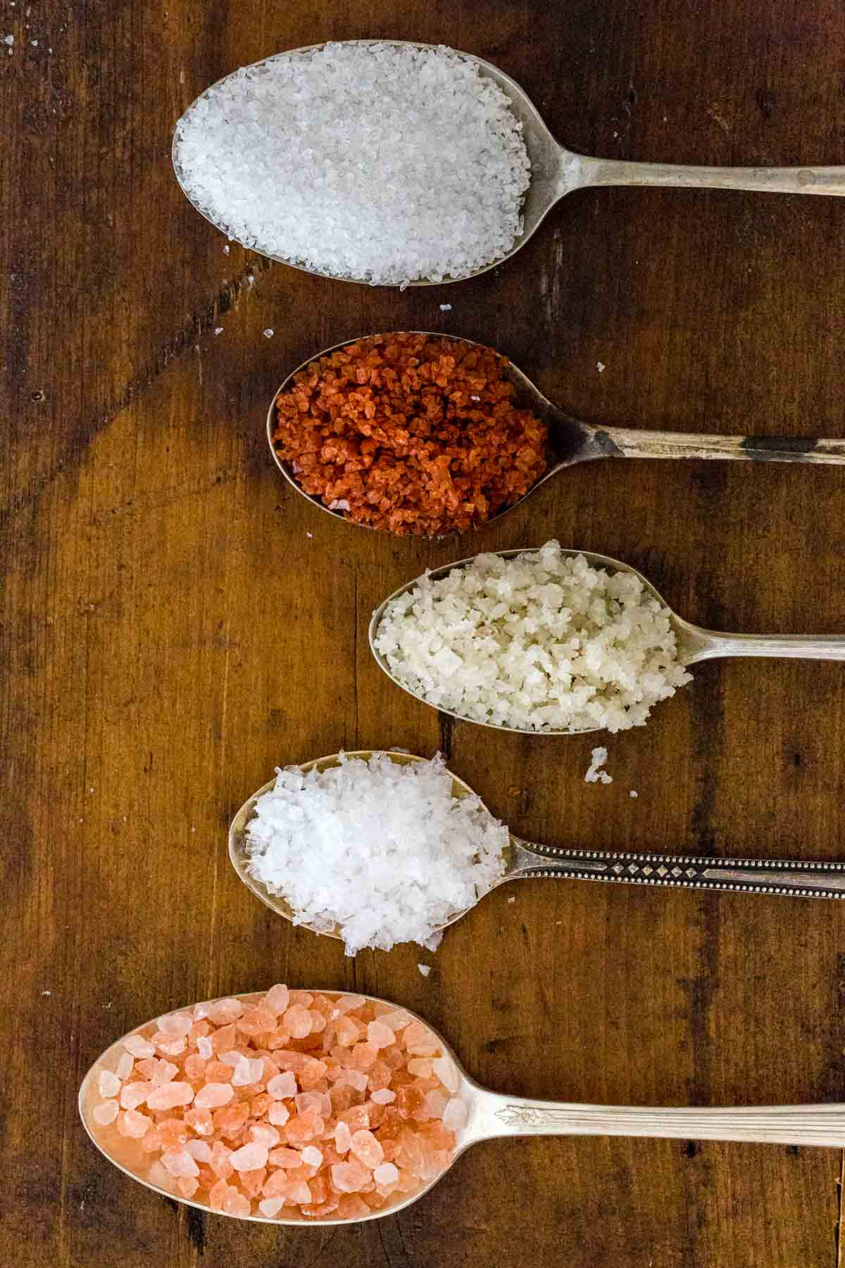 Salt is the most essential and versatile product to have stocked up in the kitchen. Necessary for cooking, baking, and seasoning. Let's learn about the different types of salt, their uses, and taste profiles.