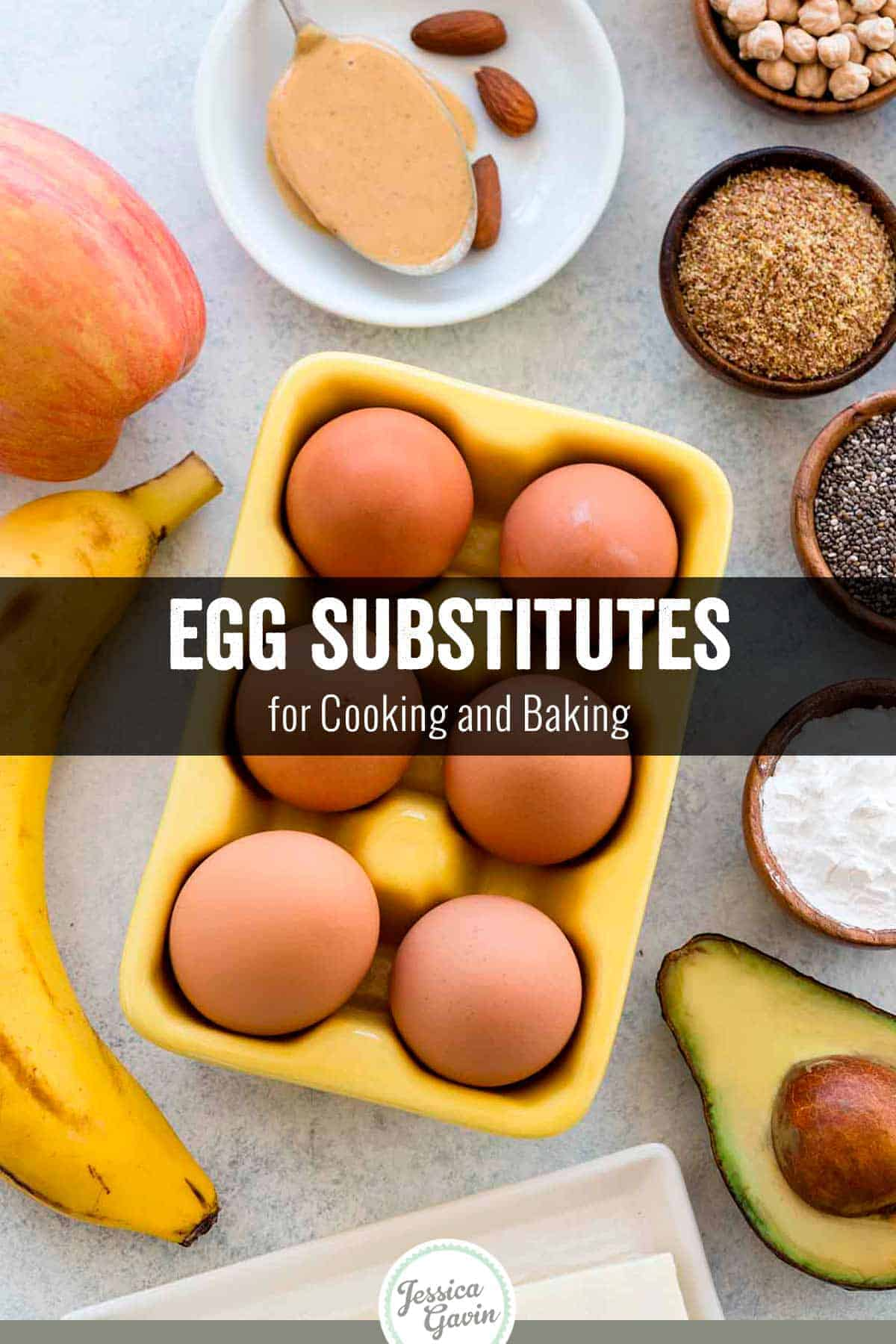 Finding effective egg substitutes can be a challenge, especially for baking. However, the good news is that many egg replacement options can provide similar functionality to the real thing. This guide offers alternative egg choices and how to use them in recipes. #eggreplacer #eggsubstitutes