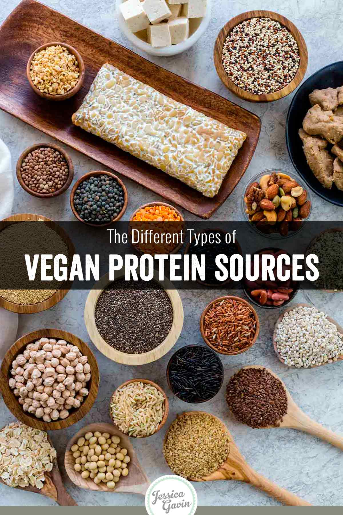 There are a plethora of vegan protein sources available for those following a plant-based diet. Eating a combination of these foods daily can help provide complete protein and keep meals interesting. #vegan #veganprotein