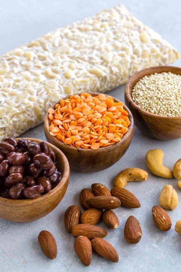 vegan-friendly recipe ingredients