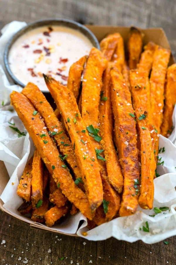 Baked Sweet Potato Fries Jessica Gavin