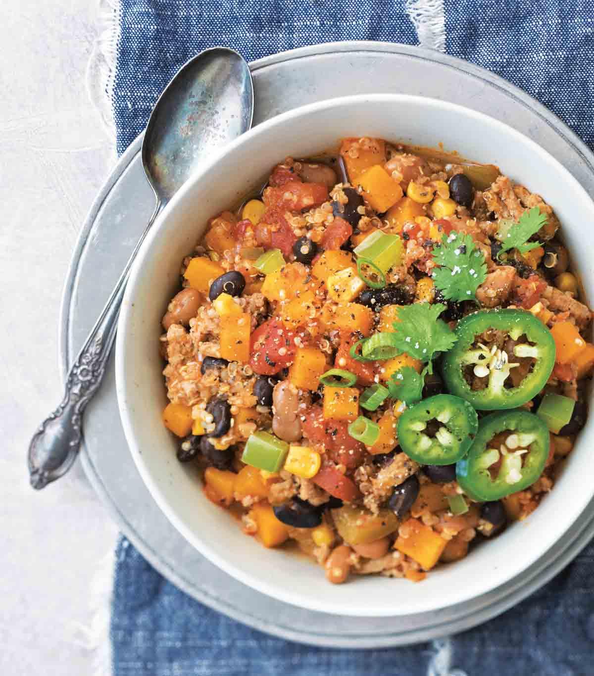 Chili recipe from Jessica's cookbook