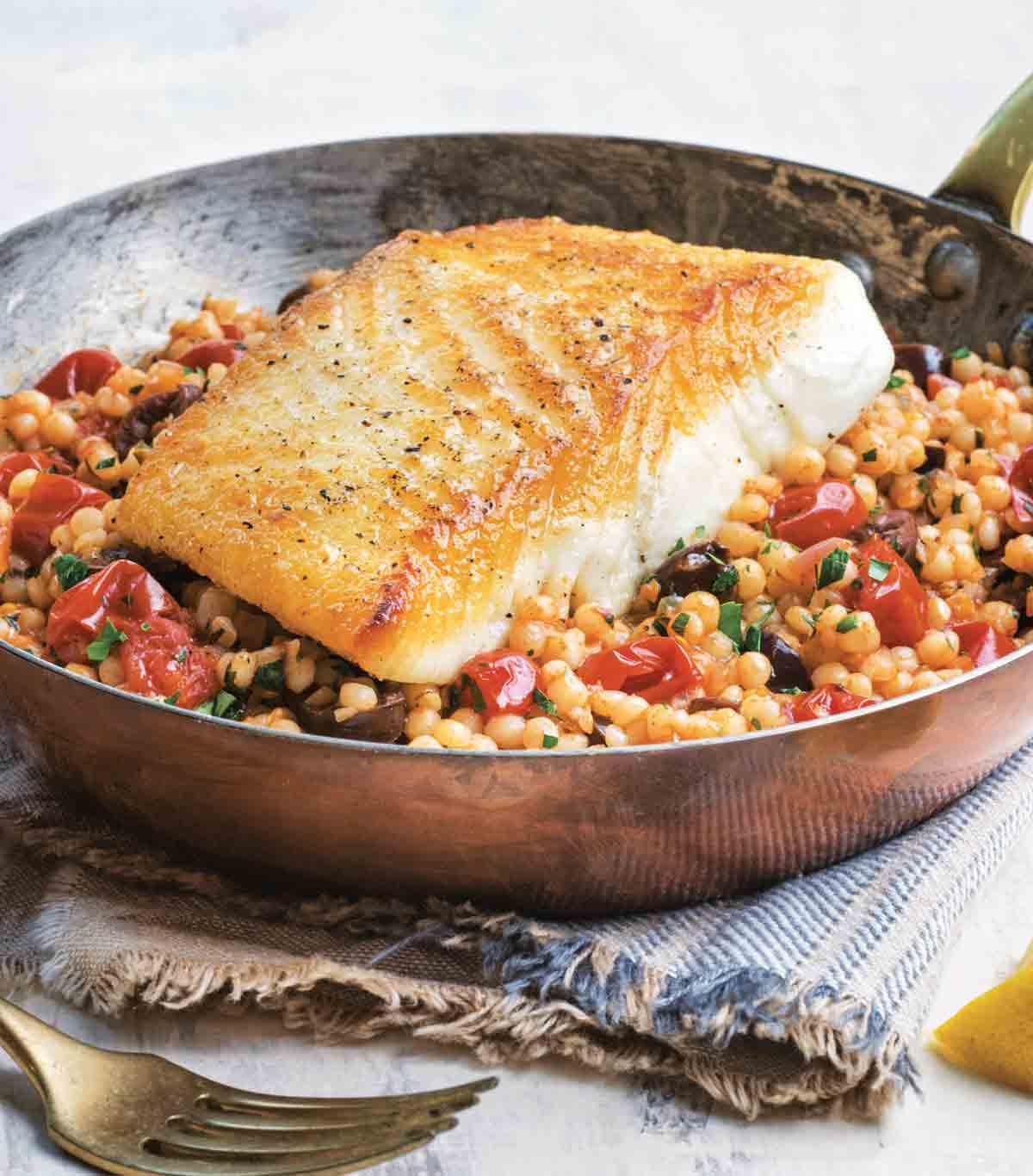 Fish recipe from Jessica's cookbook