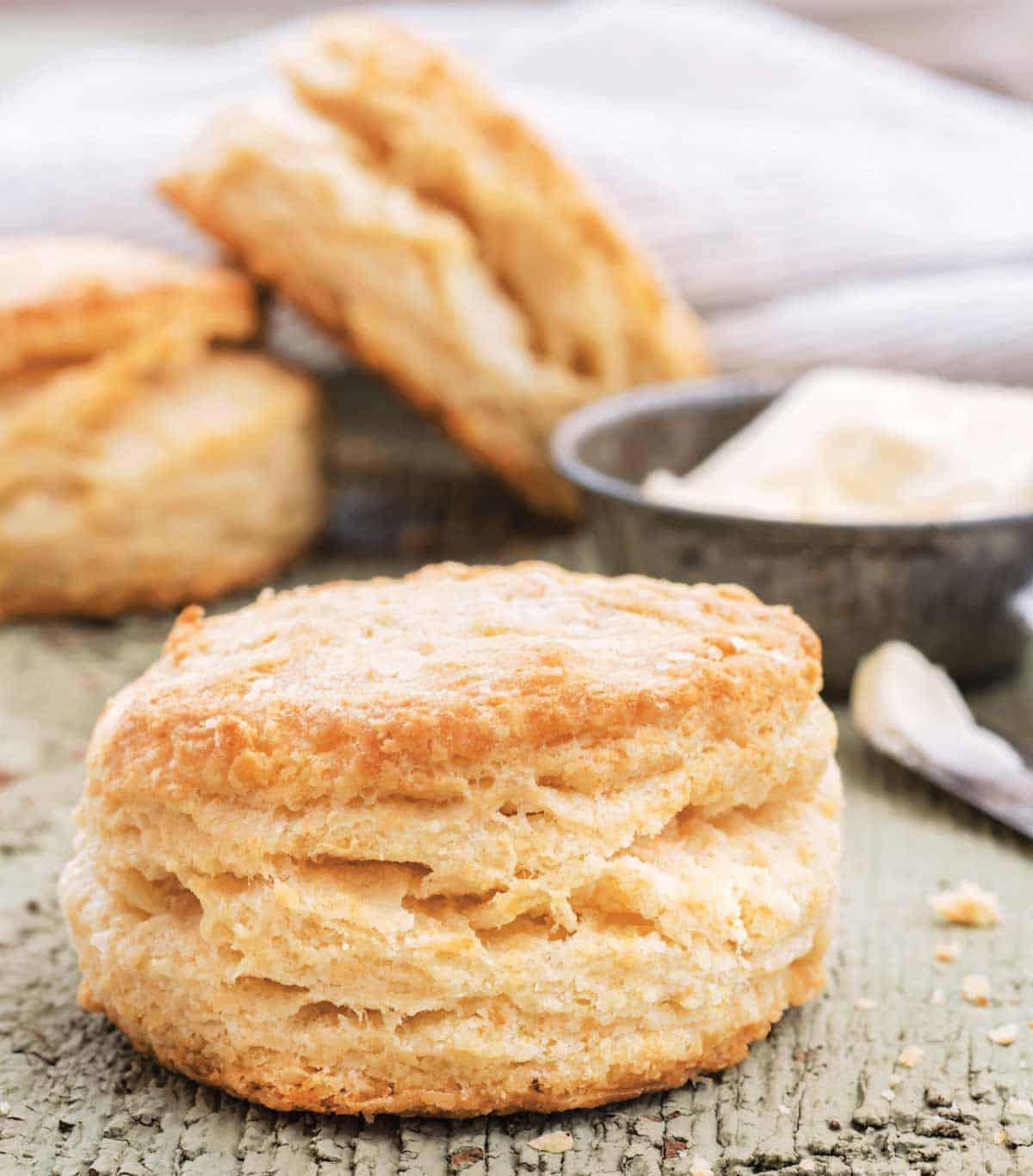 Biscuit recipe from Jessica's cookbook