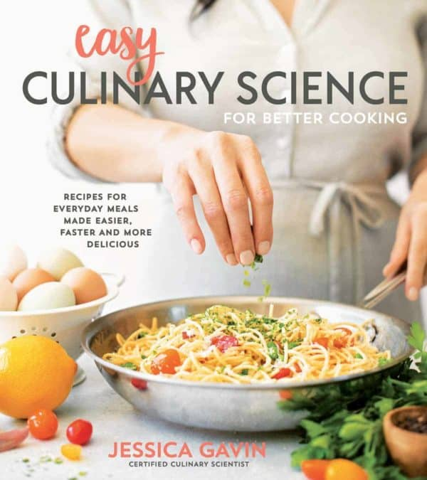 Cookbook cover: Easy Culinary Science for Better Cooking