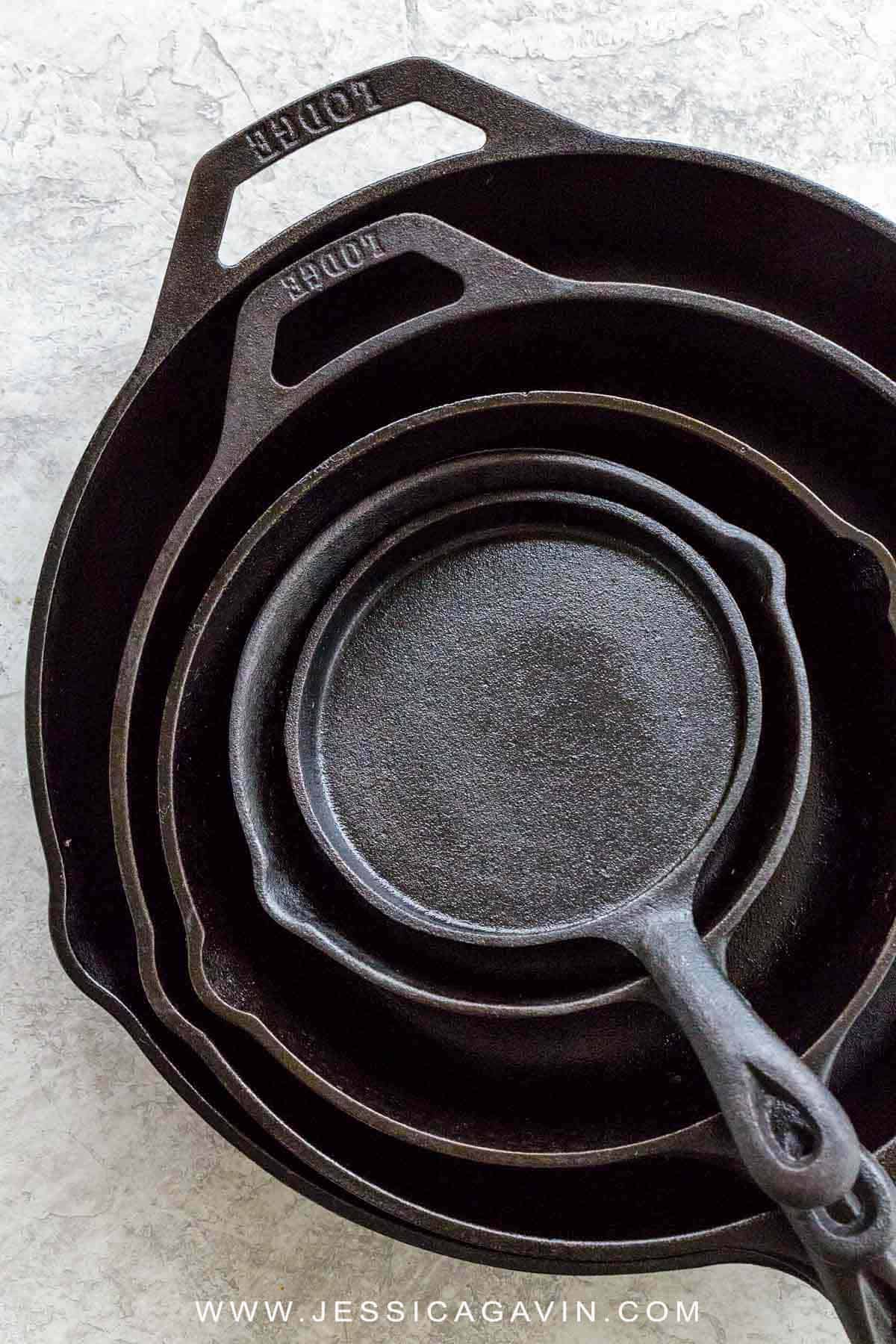 The cast iron skillet is a workhorse in the kitchen, here's a guide to cooking, cleaning, and how to season this durable and versatile tool. #castiron #skillet #cookware