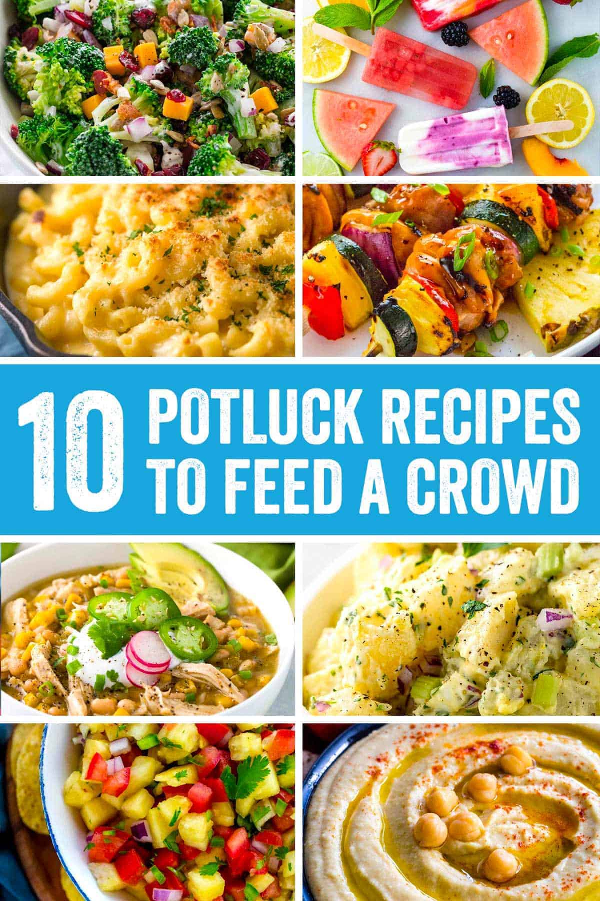Potluck Recipes to Feed A Crowd
