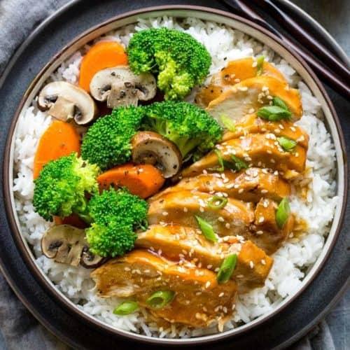 Instant Pot Teriyaki Chicken Jessica Gavin
